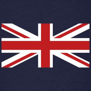 Union Jack velvety T-Shirts - Men's T-Shirt