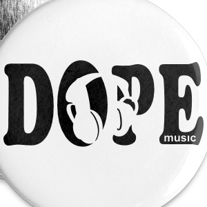 Dope Music Buttons - Large Buttons