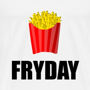 Fryday Friday Fries - Men's Premium T-Shirt