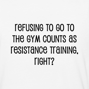Resistance Training - Baseball T-Shirt