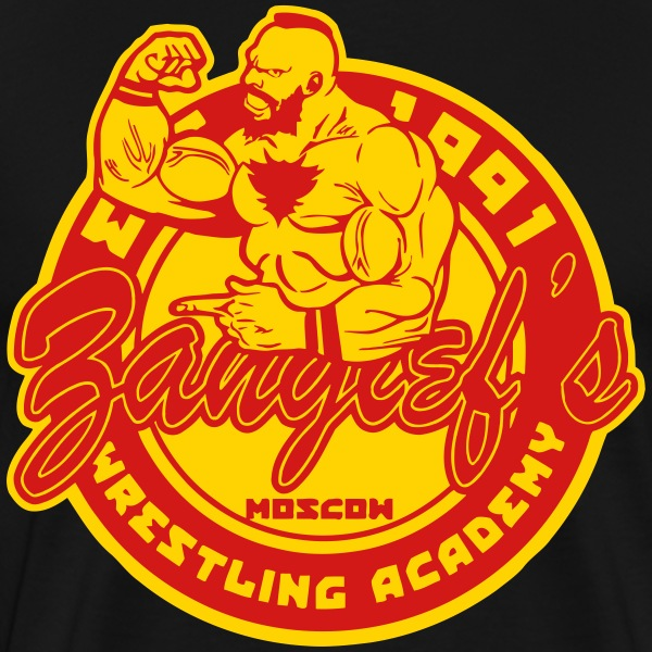 zangief wrestling T-Shirts - Men's Premium T-Shirt