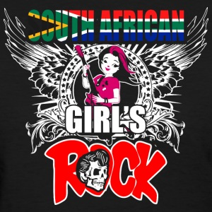 South African Girls Rock - Women's T-Shirt