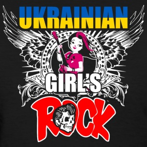 Ukrainian Girls Rock - Women's T-Shirt