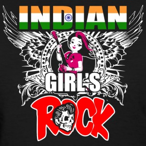 Indian Girls Rock - Women's T-Shirt