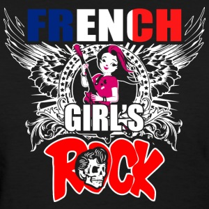 French Girls Rock - Women's T-Shirt