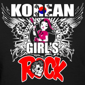 Korean Girls Rock - Women's T-Shirt