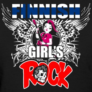Finnish Girls Rock - Women's T-Shirt