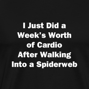 Week's Worth of Cardio - Men's Premium T-Shirt