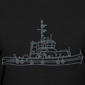 Tug or towing boat T-Shirts - Women's T-Shirt