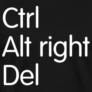 Ctrl Alt right Del T-Shirts - Men's Premium T-Shirt