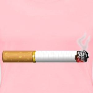 Burning Cigarette - Women's Premium T-Shirt