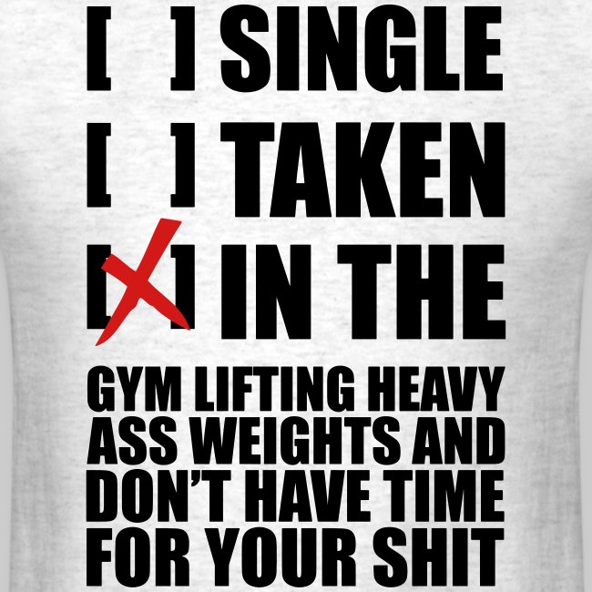 Single.taken, in the gym