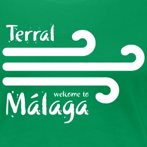 Welcome to Malaga 4 (dark) T-Shirts - Women's Premium T-Shirt