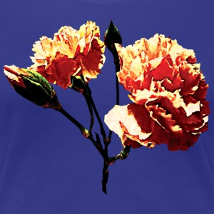Two Peach Carnations T-Shirts - Women's Premium T-Shirt