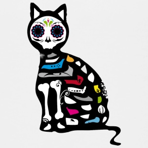 Sugar Skull Cat Kids' Shirts - Kids' Premium T-Shirt