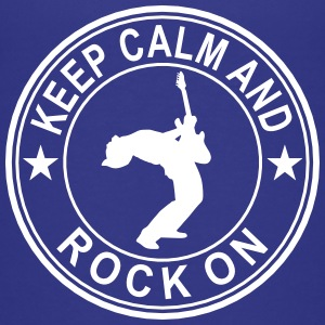 Keep Calm And Rock On Seal Kids' Shirts - Kids' Premium T-Shirt