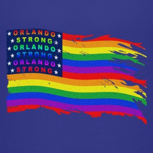 ORLANDO STRONG DISTRESSED FLAG WAVE - Kids' Premium T-Shirt