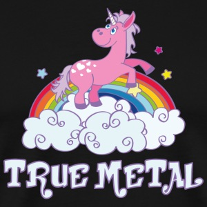 true metal T-Shirts - Men's Premium T-Shirt