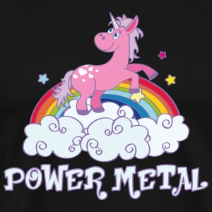 power metal T-Shirts - Men's Premium T-Shirt