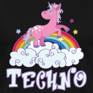 techno T-Shirts - Men's Premium T-Shirt