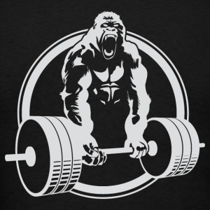OFFICIAL Gorilla Lifting Fitness Weightlifting - Men's T-Shirt