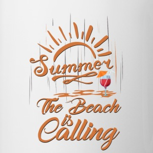 The Beach is Calling Mugs & Drinkware - Coffee/Tea Mug