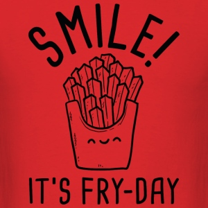 Smile! It's Fry-Day - Men's T-Shirt