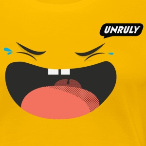 Unruly LOL - Women's Premium T-Shirt