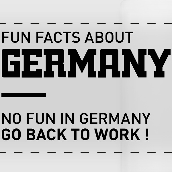 fun facts about germany mug - Panoramic Mug