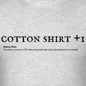 Cotton Shirt +1  - Men's T-Shirt