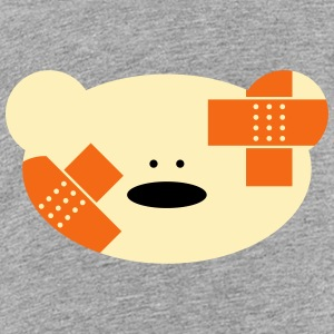 Teddy bear with plaster Kids' Shirts - Kids' Premium T-Shirt