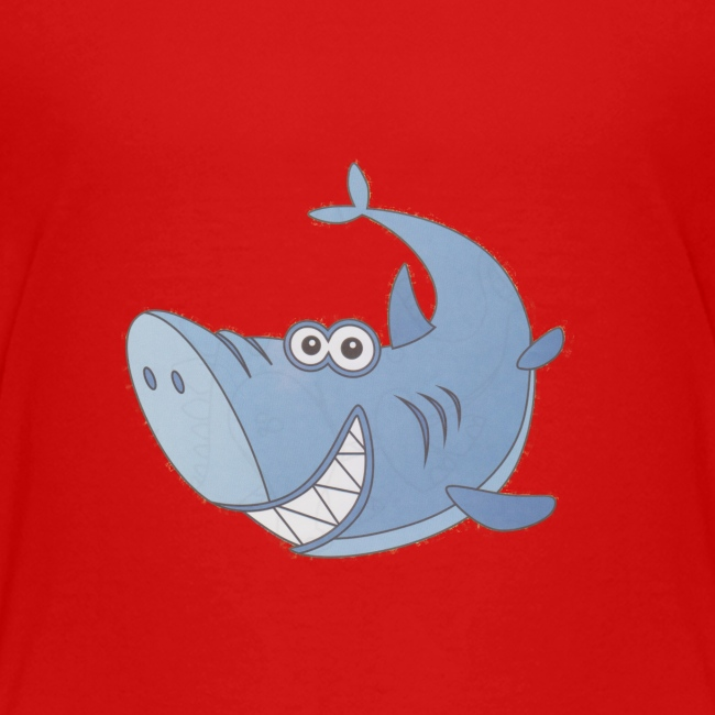 Big Blue Cartoon Shark
