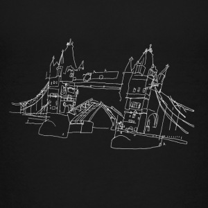 London Tower Bridge w Kids' Shirts - Kids' Premium T-Shirt