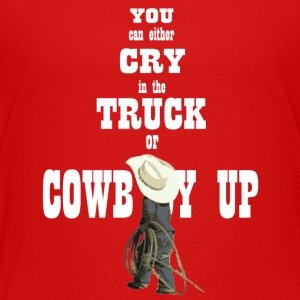 Cowboy Up Youth - Kids' Premium T-Shirt