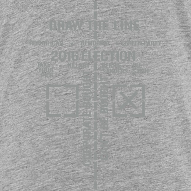 * 2016 Draw The Line * (velveteen print)
