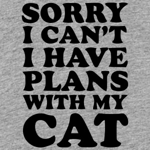 SORRY I CAN'T, I HAVE PLANS WITH MY CAT! Kids' Shirts - Kids' Premium T-Shirt
