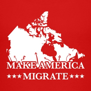 MAKE AMERICA MIGRATE (TO CANADA) - Kids' Premium T-Shirt