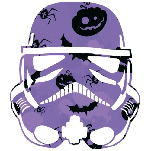 Halloween Trooper / pumpkin bat spider design