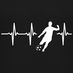 MY HEART BEATS FOR SOCCER! Kids' Shirts - Kids' Premium T-Shirt