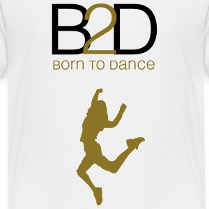 born to dance (woman) Kids' Shirts - Kids' Premium T-Shirt