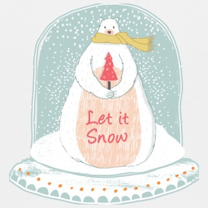 Let it snow - Christmas snow globe - Kids' Premium T-Shirt
