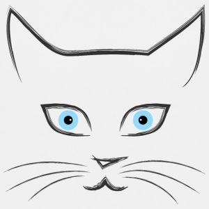 Cat's face Kids' Shirts - Kids' Premium T-Shirt
