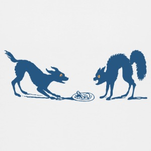 Dog vs Cat Food Fight - Kids' Premium T-Shirt
