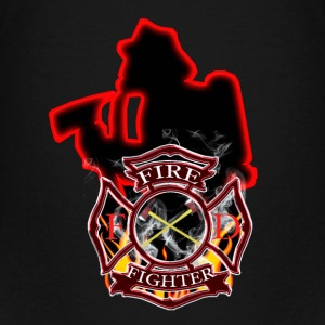 Firefighters are first in and last out - Kids' Premium T-Shirt