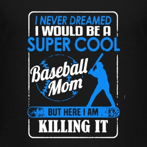 Baseball Heart Shirt - Kids' Premium T-Shirt