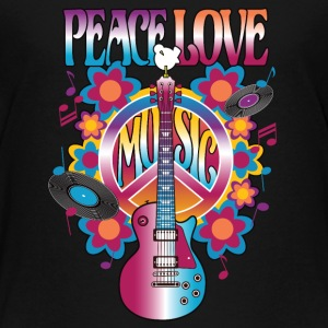 Peace Love Music - Kids' Premium T-Shirt
