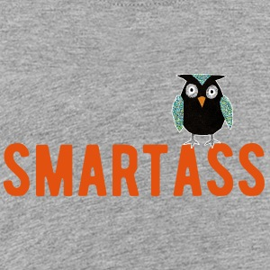 smartass owl - Kids' Premium T-Shirt