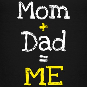 Mom and Dad is Me (dark) Kids' Shirts - Kids' Premium T-Shirt