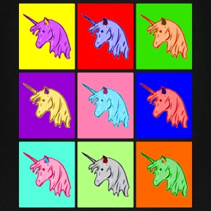 Pop Art Unicorn Kids' Shirts - Kids' Premium T-Shirt
