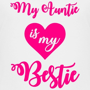 My auntie is my bestie Kids' Shirts - Kids' Premium T-Shirt
